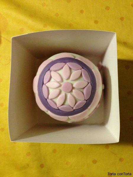 Mosaic mini cake