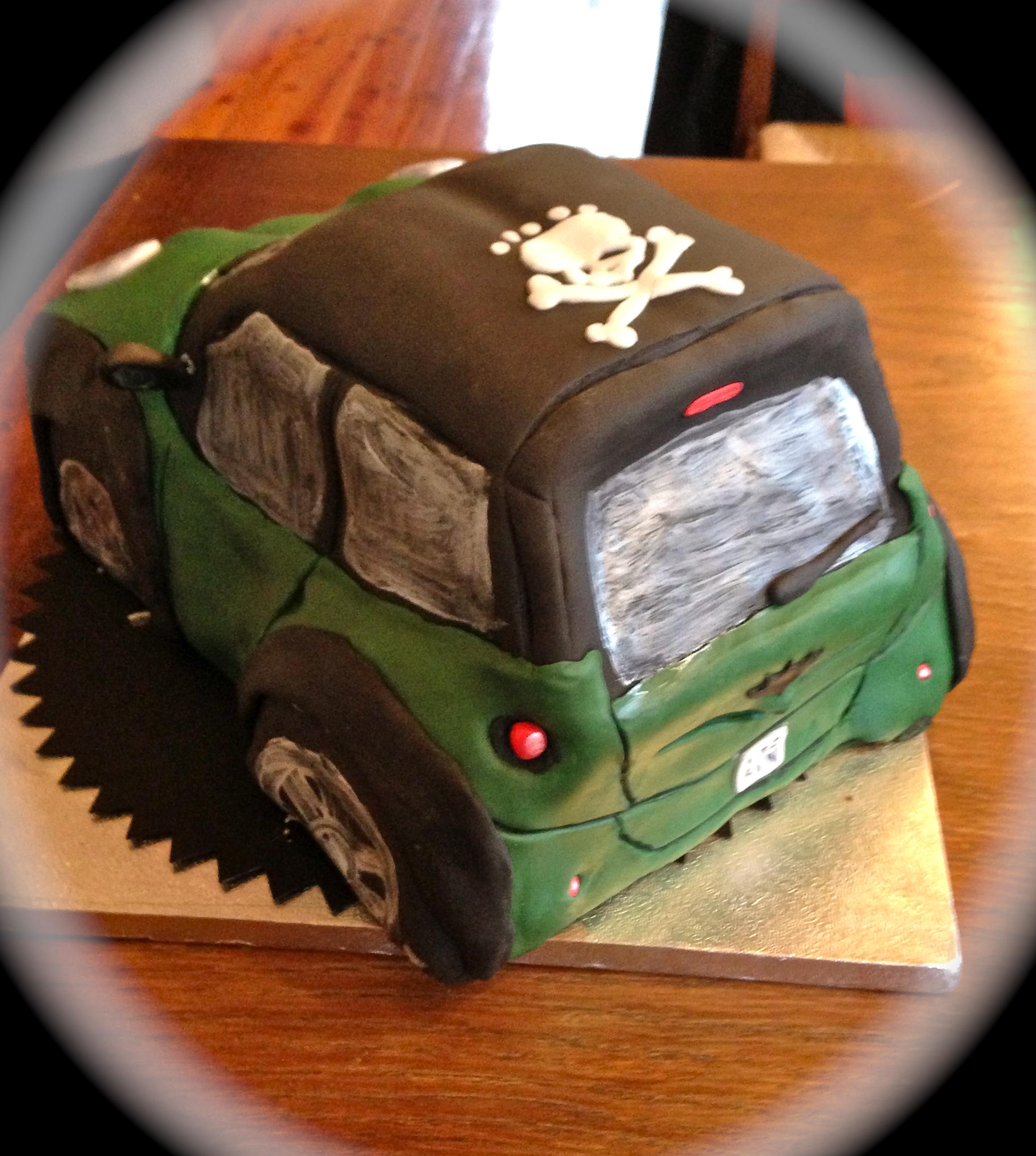 Torta mini auto
